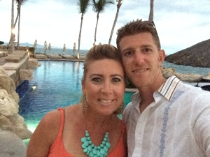 My honey and I on our way to our friend's birthday party at the One and Only Palmilla in Cabo